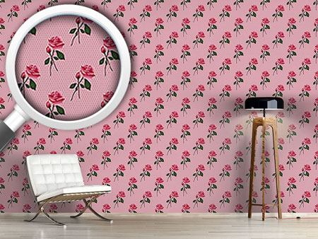 Design Wallpaper Pink Roses