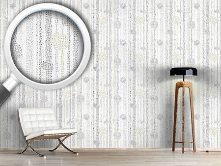 Design Wallpaper Stripes With Structure