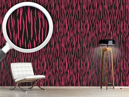 Design Wallpaper Pop Art Zebra