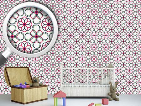 Papier peint design Follow The Flowers