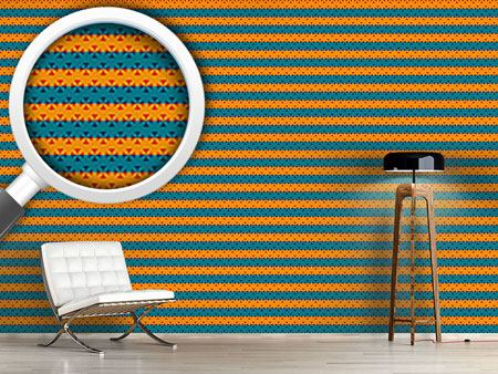 Design Wallpaper Stripe Contrast