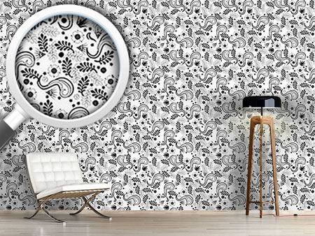 Design Wallpaper Avantgarde Floral