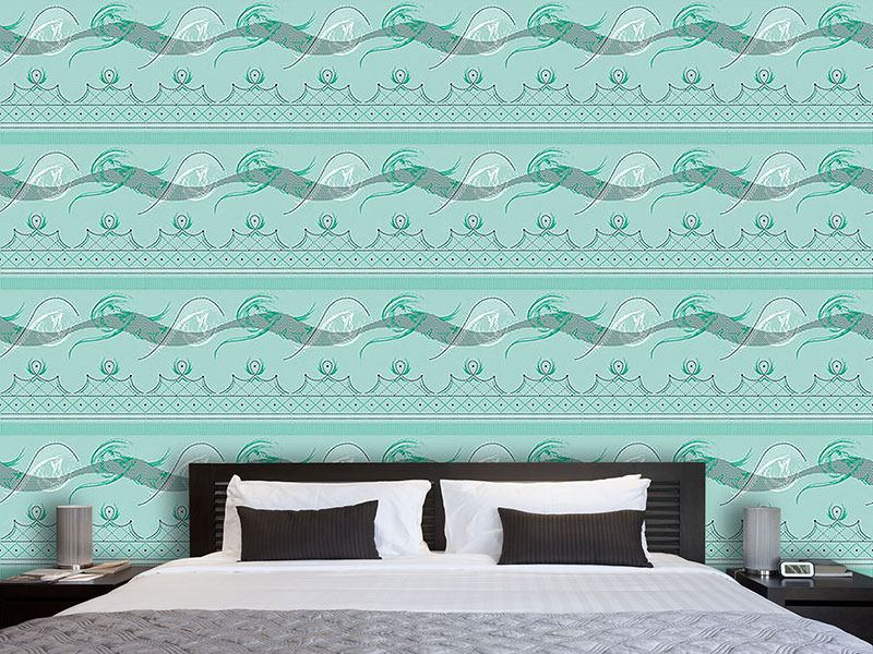 Design Wallpaper Moulin Vert