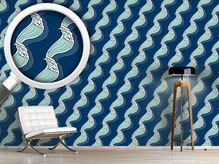 Design Wallpaper Maritime Waves