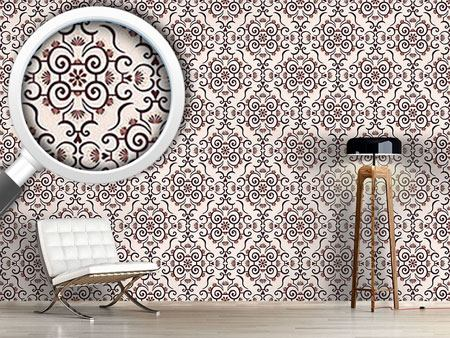 Design Wallpaper Lace Idol Brown