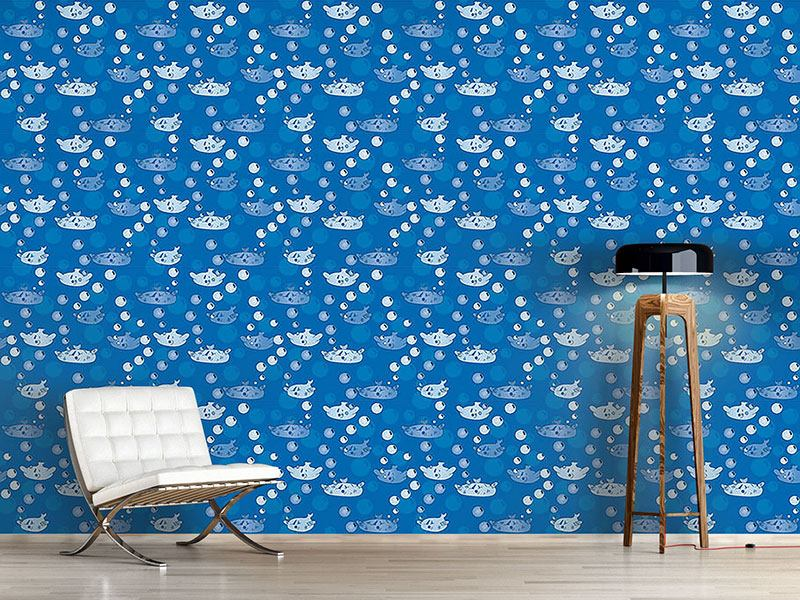 Design Wallpaper Happy Fish