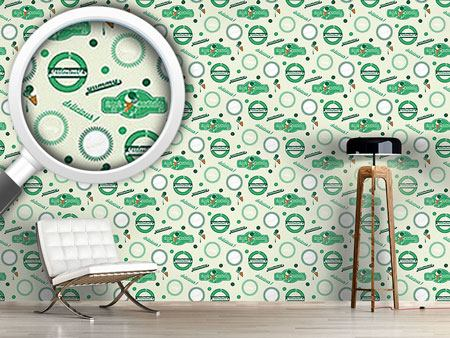Design Wallpaper Yummy Green