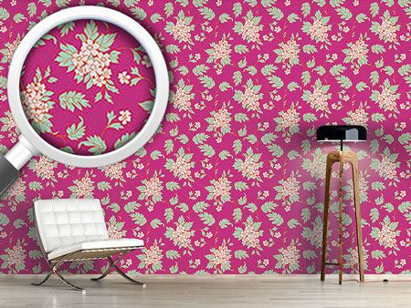 Design Wallpaper BouquetPink