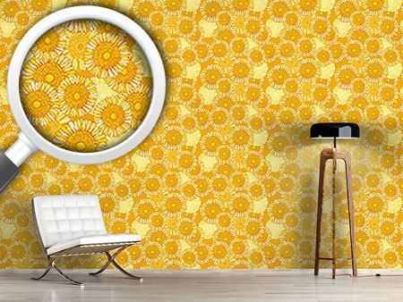 Design Wallpaper Sunny Blossoms