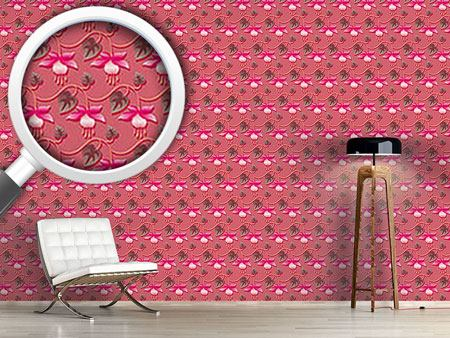 Design Wallpaper Pink Fuchsia