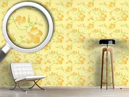 Design Wallpaper Sunny Hibiscus
