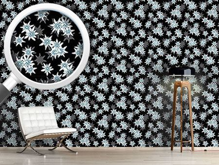 Design Wallpaper Edelweiss Black