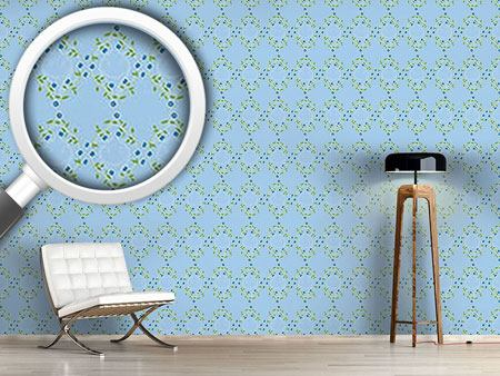 Design Wallpaper Forget Me Not Blue