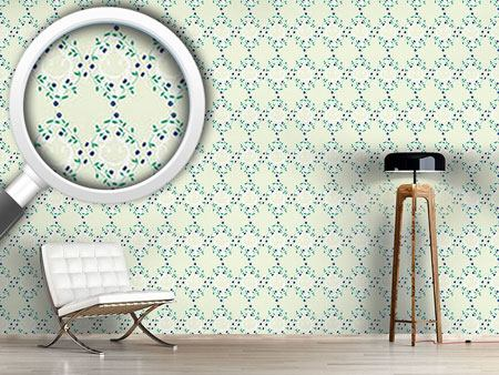 Design Wallpaper Forget-MeNnot Light
