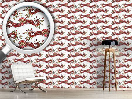 Papier peint design Cavallo White