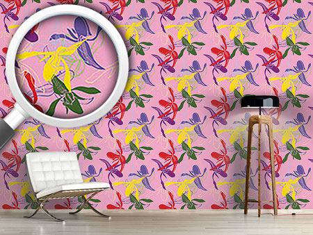 Design Wallpaper Orchid Color