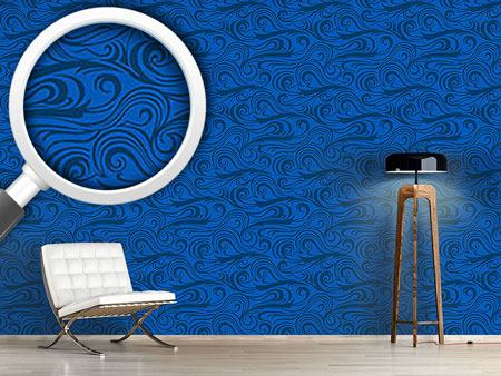 Design Wallpaper Brisk Waves