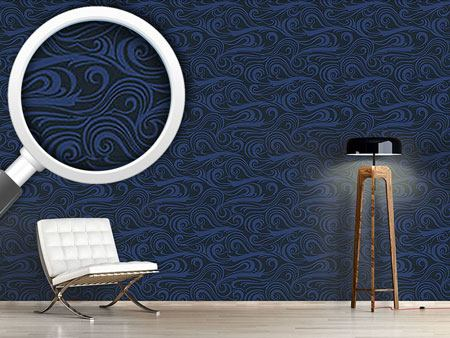 Design Wallpaper Brisk Waves Ozeania