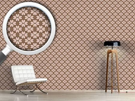 Design Wallpaper Blossom Hearts