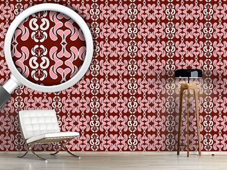 Papier peint design Hometown Red