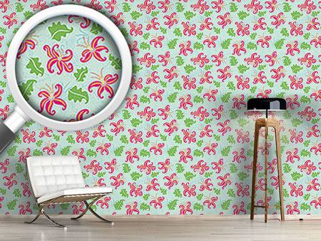 Design Wallpaper Pink Lily
