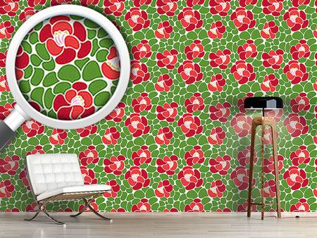 Design Wallpaper Spring Petals