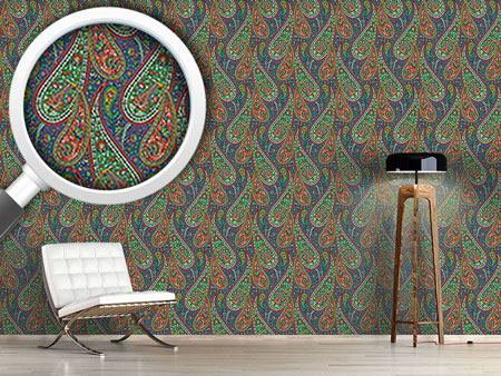 Design Wallpaper Filigree Paisley