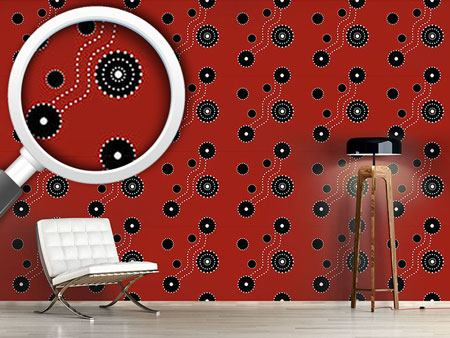 Design Wallpaper Aboriginal Track