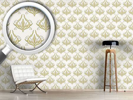 Design Wallpaper Lilly White