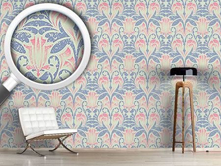 Design Wallpaper Damasko Linen