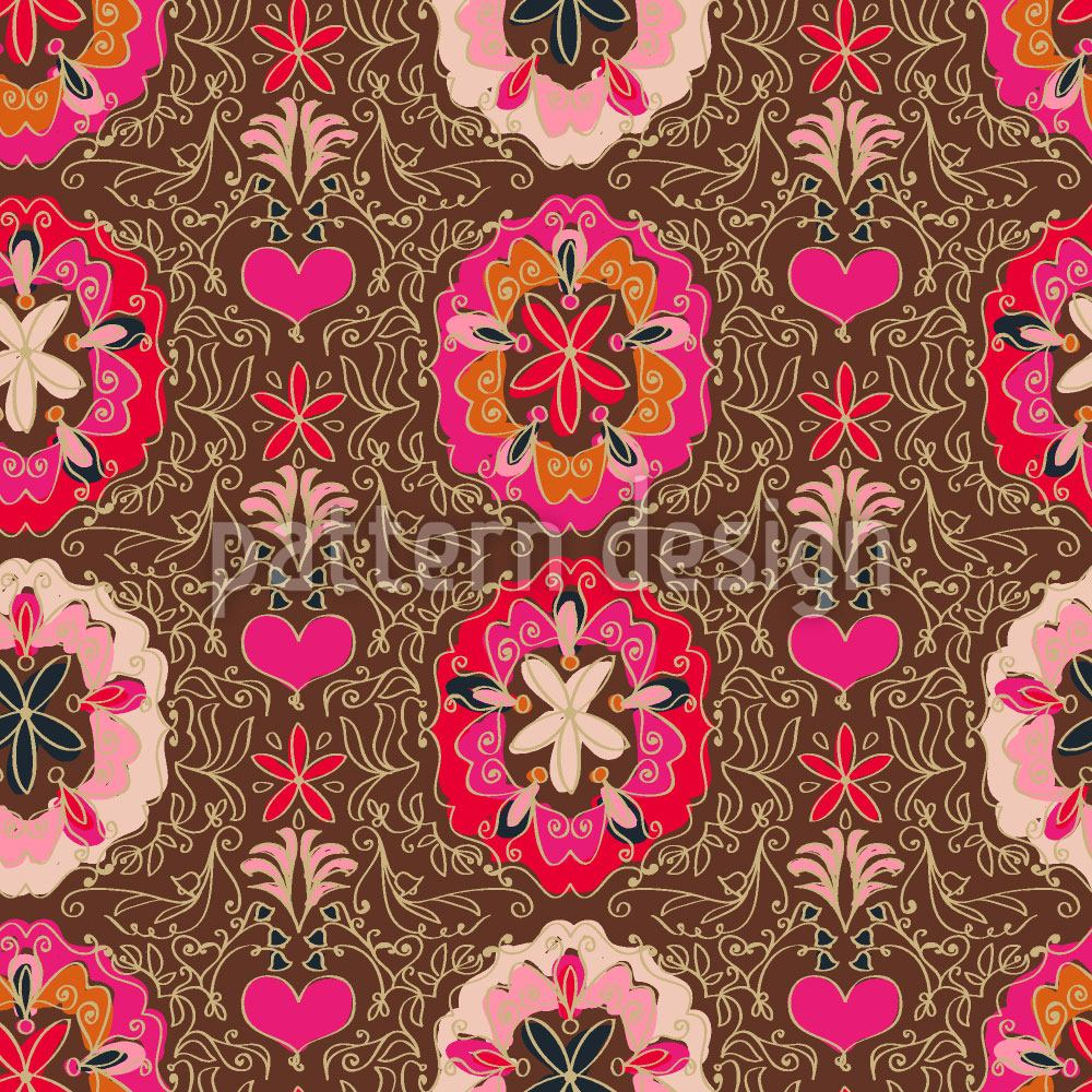 Design Wallpaper Floralie Brown