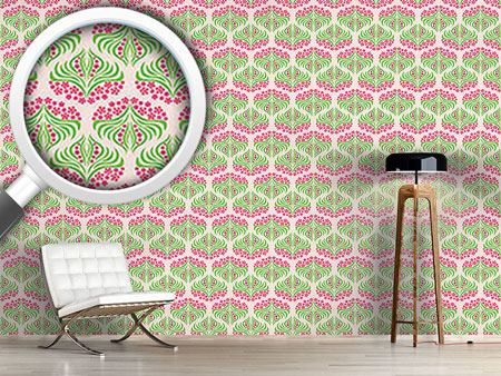 Design Wallpaper Flush Flower