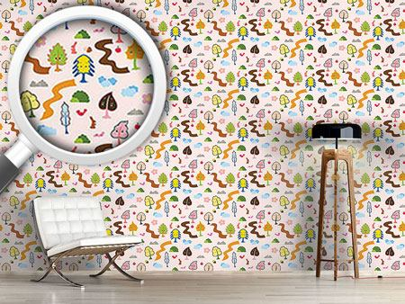 Design Wallpaper Tree Friends