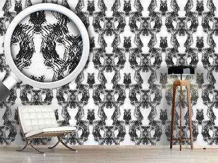 Design Wallpaper The Lady Wears Black
