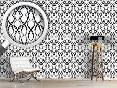 Design Wallpaper White Pearls