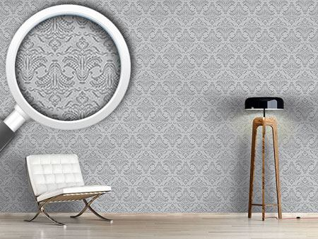 Design Wallpaper Opulence Grey
