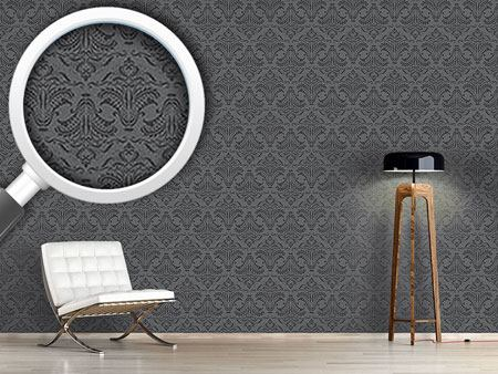 Papier peint design Opulence Dark Grey