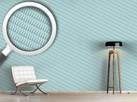 Design Wallpaper Lamello Blue