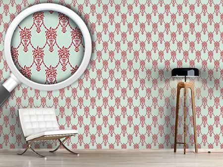 Design Wallpaper Amphora Mio Red