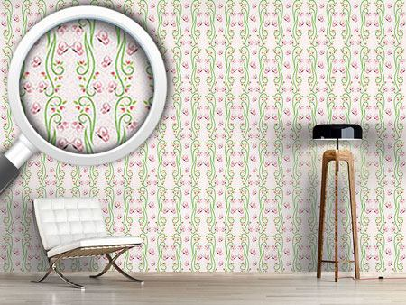 Design Wallpaper Butterfly Visit Mirrored