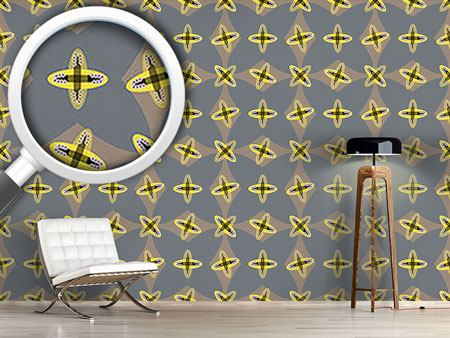 Design Wallpaper Crossed Ovals