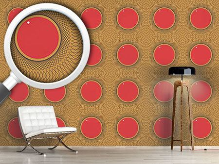 Design Wallpaper Round Shapes