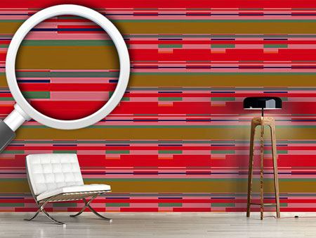 Design Wallpaper Red Stripes