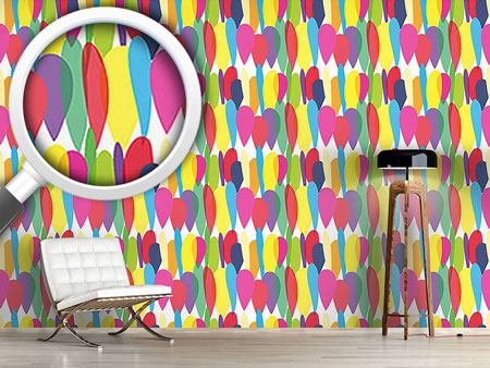 Design Wallpaper Multi Balloons