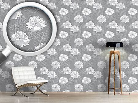 Design Wallpaper Sweet Sweet Rosy