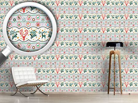 Design Wallpaper Merry Stag Night