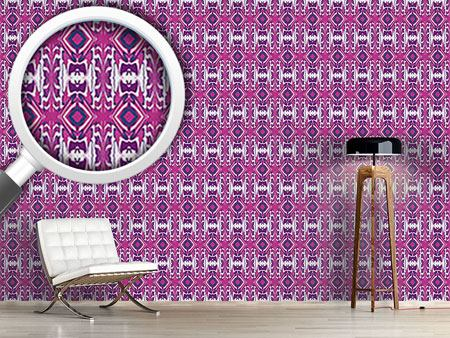 Design Wallpaper Ultrasonic Pink