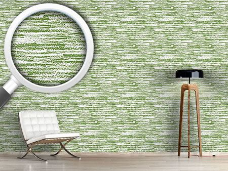 Papier peint design Graphit Green