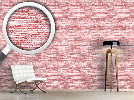 Design Wallpaper Graphite Red
