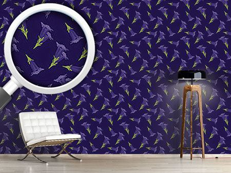 Design Wallpaper Gentian Blue